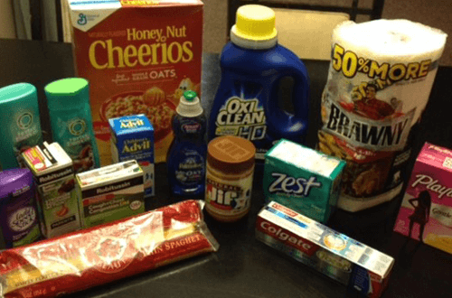 I got these grocery items for 90% off!