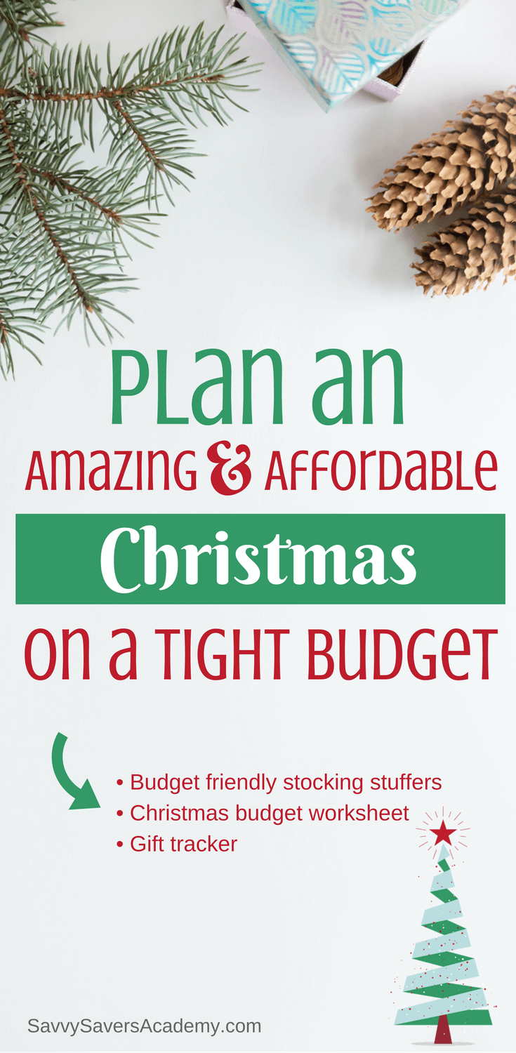 If your planning Christmas on a budget you'll want to check this out. It has a Christmas budget worksheet and great stocking stuffer ideas for the whole family.