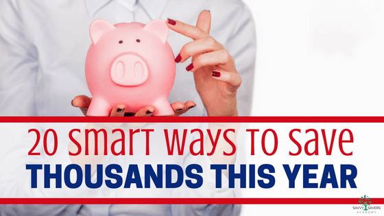Great ideas and tips to save a lot of money this year. Cutting back on expenses can add up fast. Frugal living is an effective way to save a ton of money.