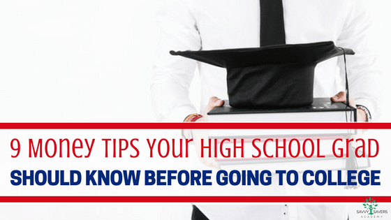 Start your high school graduate or college student off right with these money saving and frugal living tips. Help your child live a debt free life and keep their finances in order.
