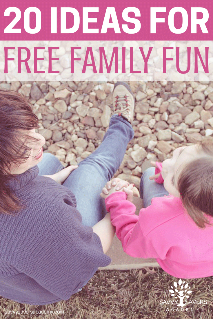 Great ideas for family activities