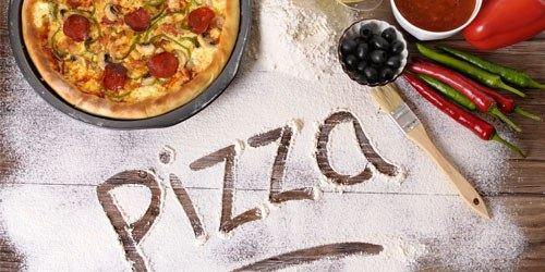 make homemade pizza with the kids or with your sweetheart for a fun night