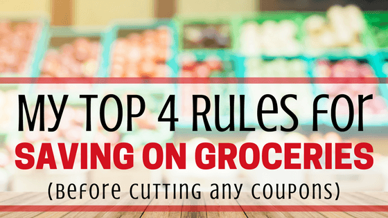 Ways to save on groceries before you touch a single coupon!