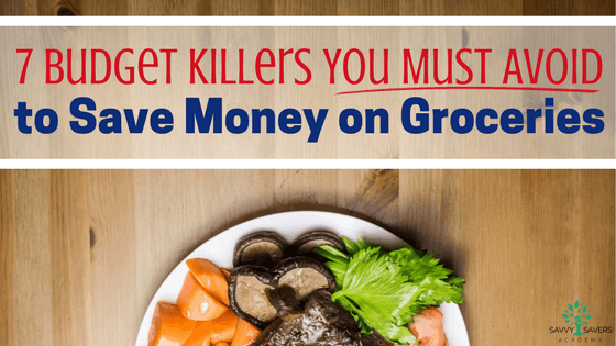 Big mistakes you have to avoid if you want to save money on groceries.