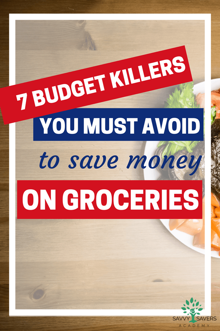 If you want to save money on groceries you must avoid these bad shopping habits. I'm definitely guilty of some of these. Good advice to help improve!