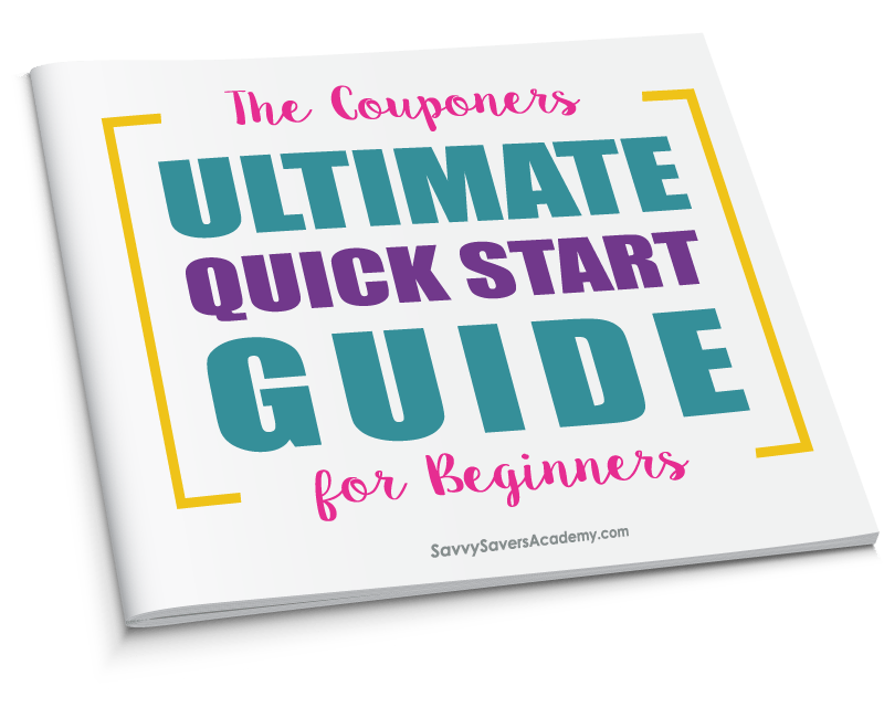 The Couponers Ultimate Quick Start Guide for Beginners. Learn how to shop with coupons the easy way.
