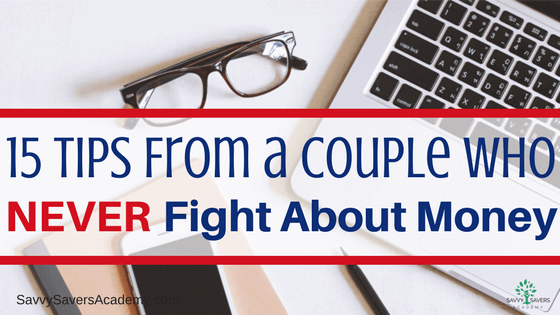Fighting about money is a common problem. Learn what this couple does to stop fighting over money.