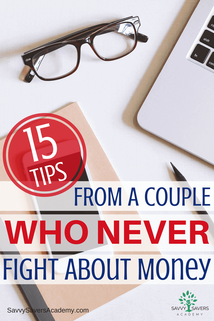 Fighting over money is a common problem. Learn what this couple does to stop fighting over money.