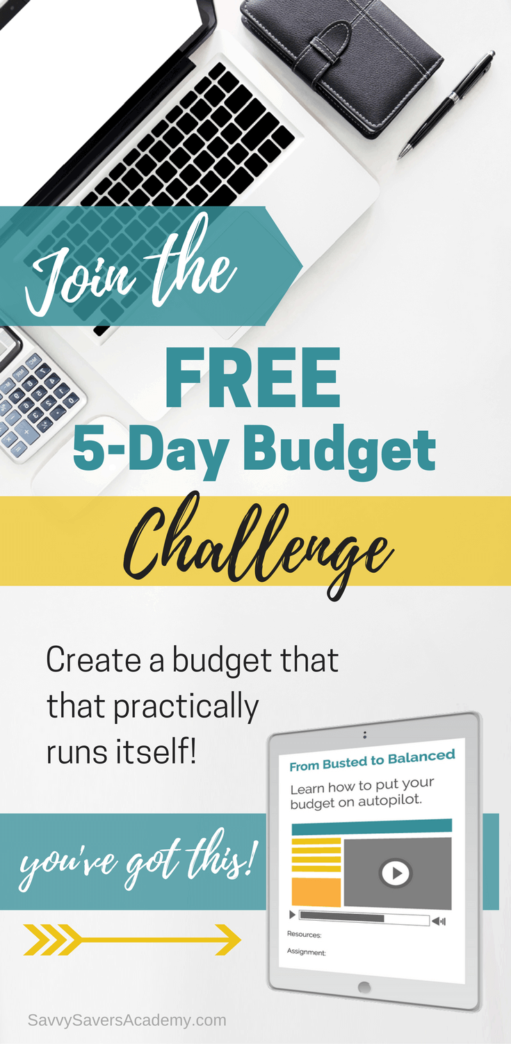 This challenge is great! If you need help to fix your budget take this challenge! It goes above and beyond your basic budget to make one that runs on autopilot.