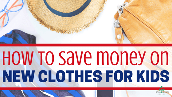 You don't always have to go to the thrift store to get cheap kids clothes. Try these tips to save money on new clothes for kids.