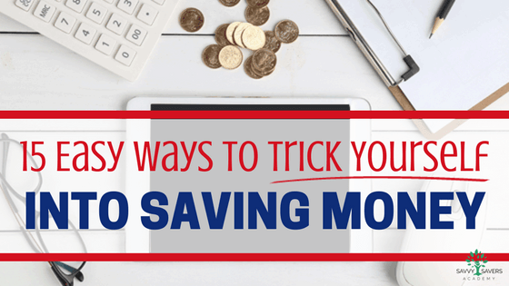 Use these tips for an easy way to save money is to throw a couple bucks in a jar every day. If you stick to it, you easily save over $1,000 in a year.