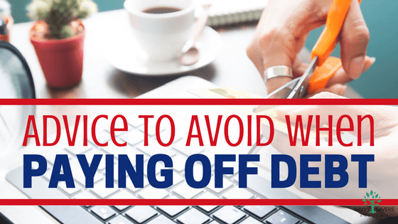 Don't follow bad trends or advice when you pay off debt. Stick to a good strategy that works and saves your dignity.