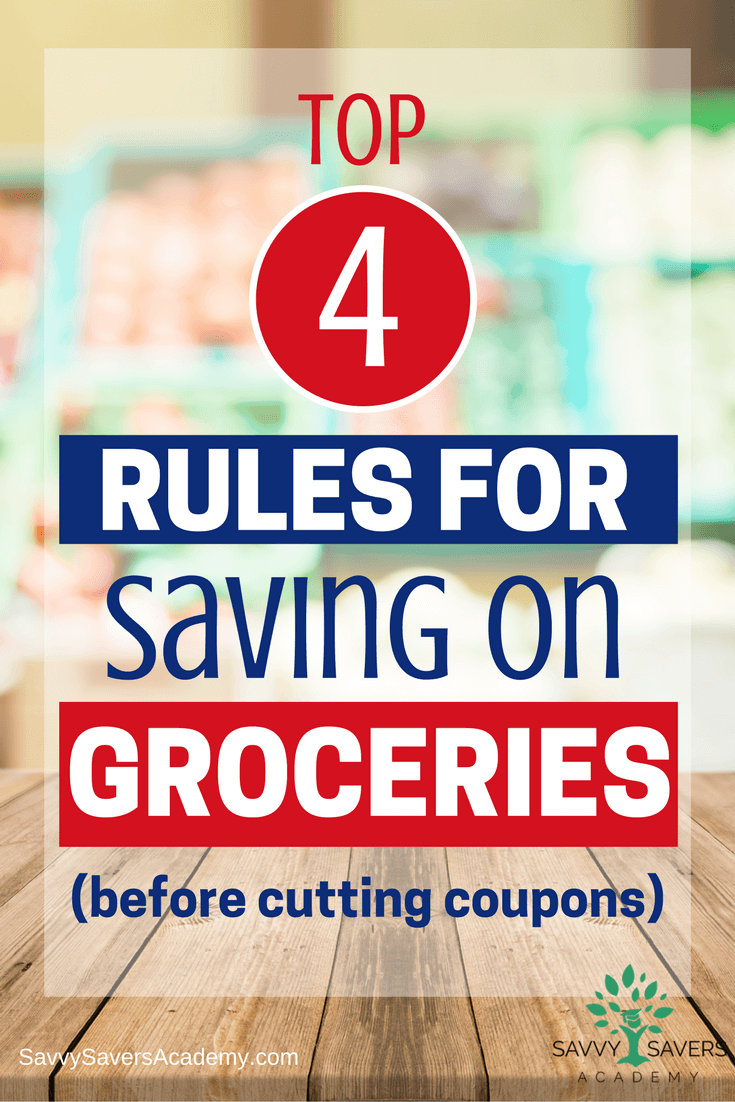There's more to saving on groceries than just coupons. Learn how to save money on groceries along side shopping with coupons.