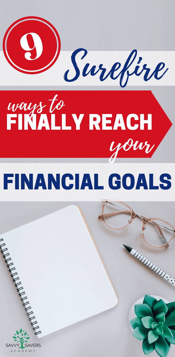 Make this the year that you reach your financial goals. Here are 9 great tips that will help you break through to financial freedom and pay off debt.