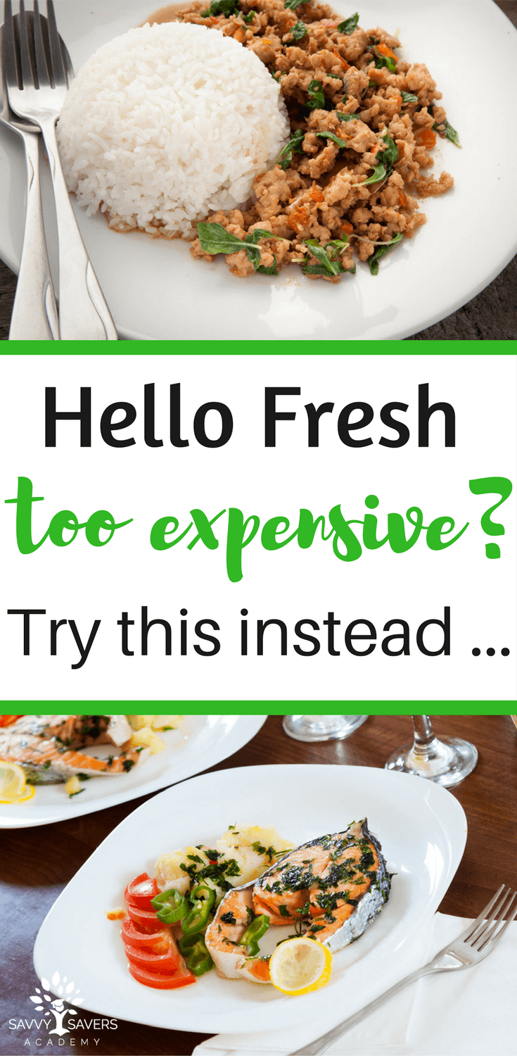 Meal delivery services like Hello Fresh can be expensive. Here's a great alternative to help save you both time and money on meal planning.