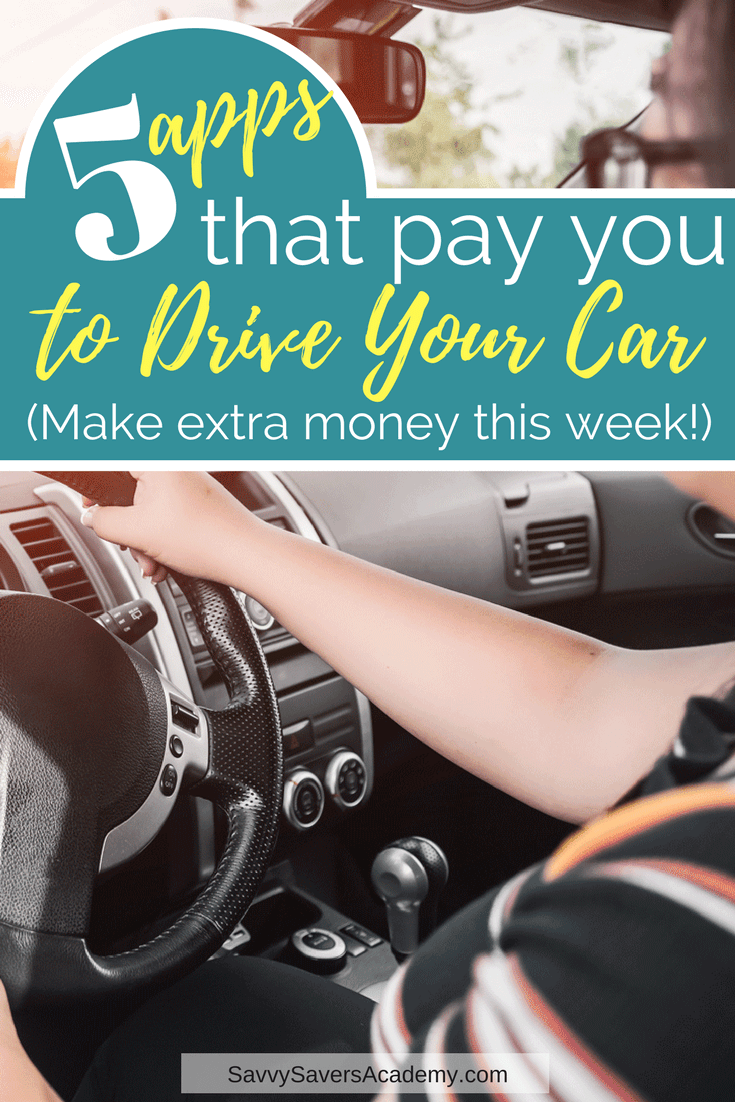 Earn extra money by driving your car. These apps pay you to drive. Give rides or make deliveries. This is an easy way to make extra money on the side.