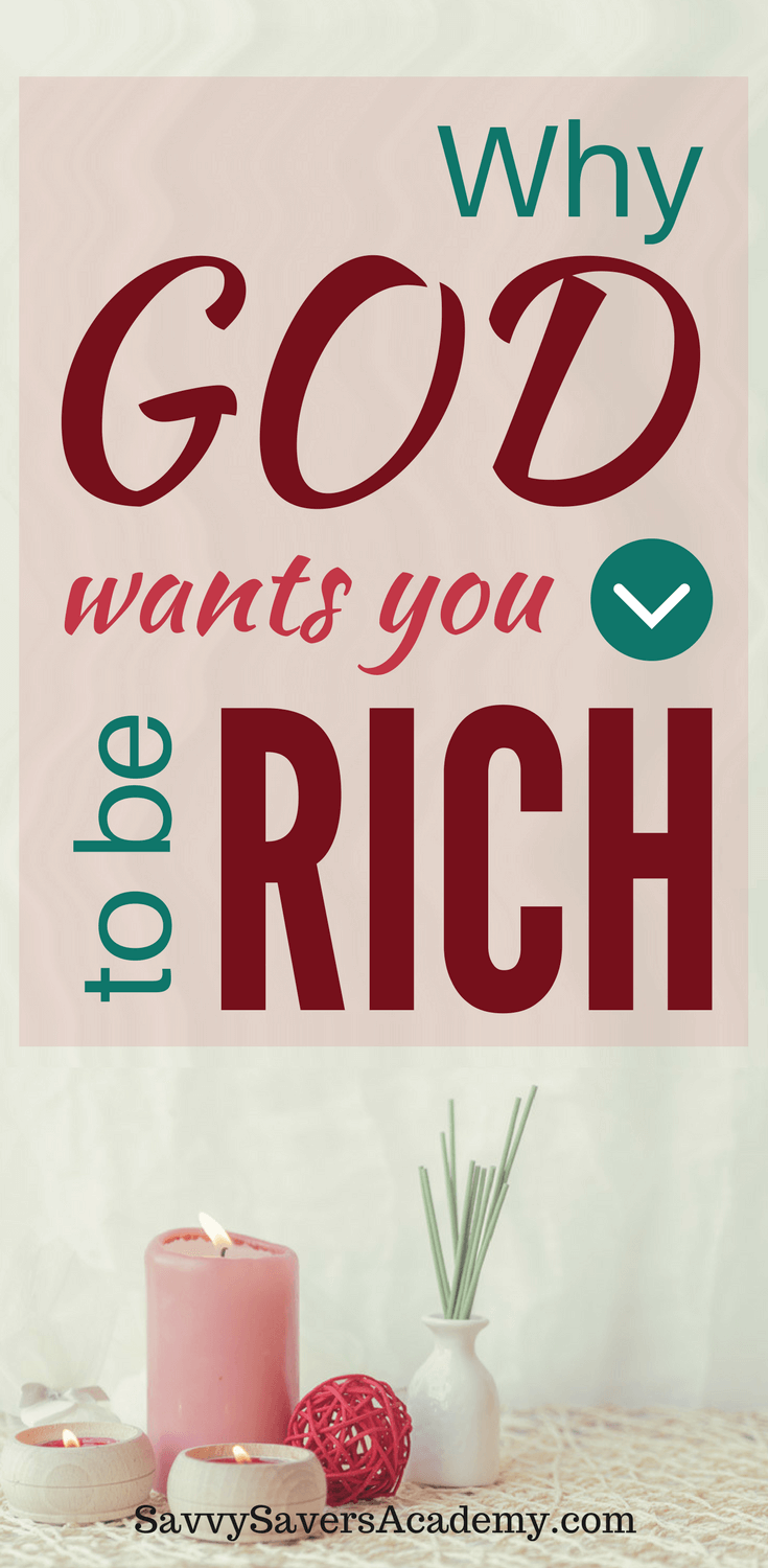 If you have goals to live a rich lifestyle with your family, you might be conflicted what God thinks. So many scriptures condemn being rich, but you can be rich and still be great in the eyes of God.