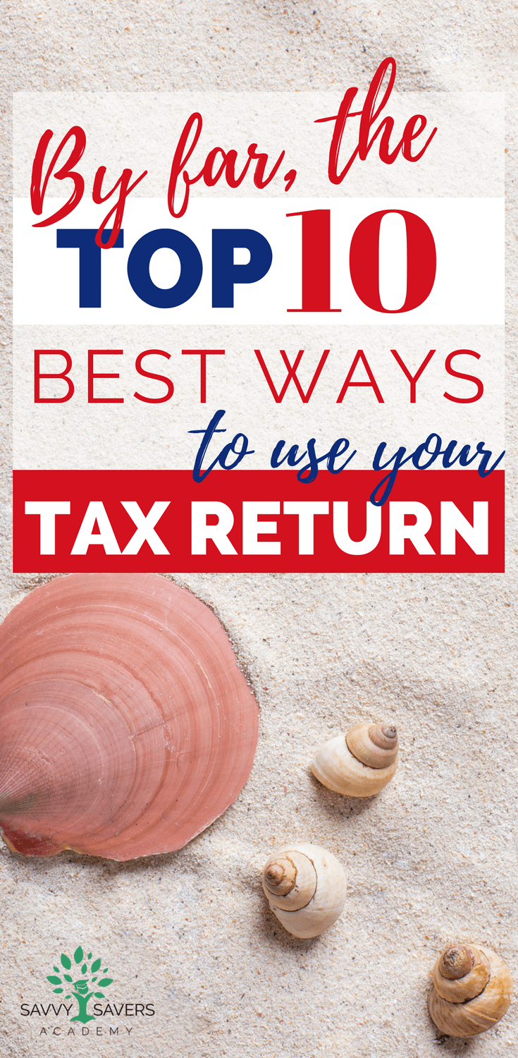 This is how to to spend your money wisely if you are due a tax return this year. Use these tips and ideas to plan your year and make the most out of your refund.
