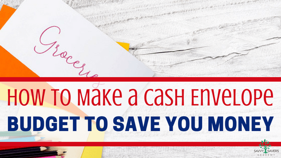 How to make a cash envelope budget system with DIY printables or by purchasing a wallet system. Learn how this budget will help you save money and stick to your budget.