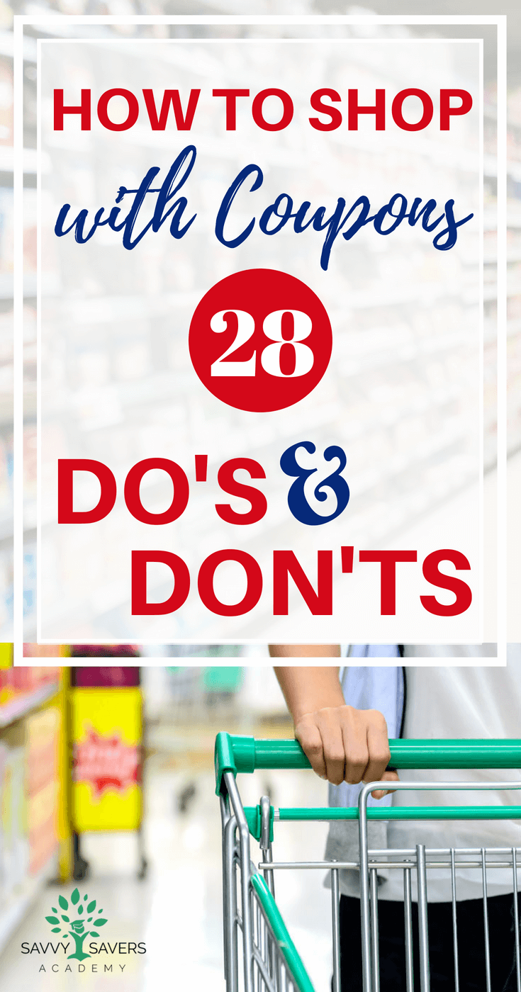 Learn how to start using coupons with these do's and don'ts. Perfect for beginners. Extreme couponing doesn't have to be difficult. Follow these strategies to save money on groceries.